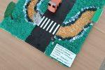 МБДОУ Ромашка старшая группа Пчёлка 5-6лет номинация Декоративно-прикладное творчество- СТОП! КРАСНЫЙ СВЕТ-ДОРОГИ НЕТ! Рук-ль Астап